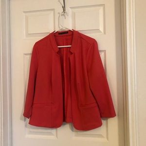 Maurices coral pink jacket